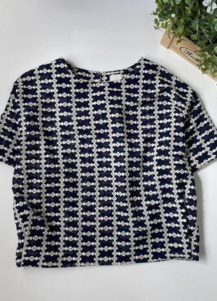 Нарядная блуза с вышивкой италия