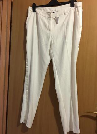 Шикарные белоснежные штаны kiabi