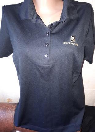 Спортивная футболка с воротником nike оригинал