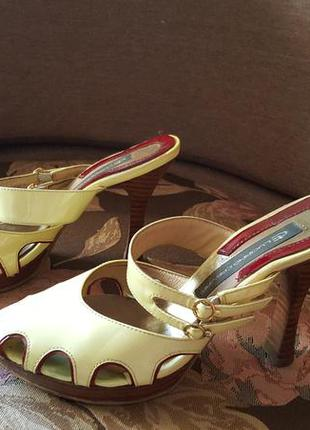 Туфли сабо босоножки luciano carvari