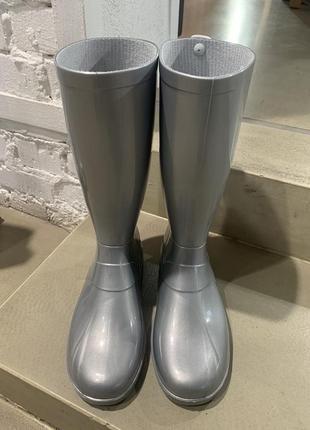 Женские резиновые сапоги жіночі резинові гумові чоботи3 фото