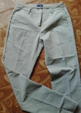 Шикарные штаны брюки рельефный узор