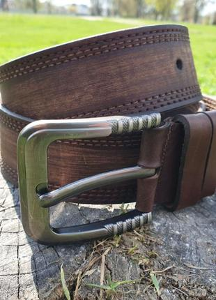 Шикарный широкий ремень, 4.5 см, длина до 115 см в джинсы, летние