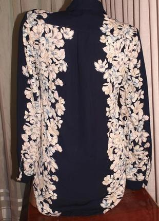 Шикарная блуза (м замеры) узор на 2 стороны, лёгкая, превосходно сомтрится3 фото