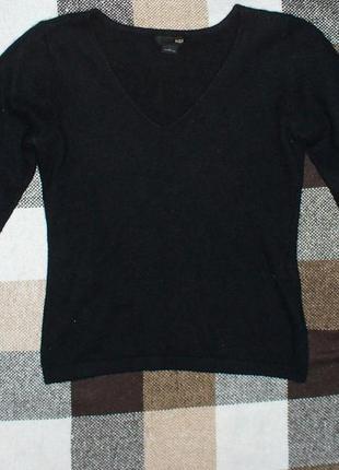 Кофта реглан h&m свитер пушистый  теплый кофточка джемпер
