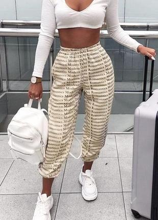 Крутые штаны в модный принт😍 😍
