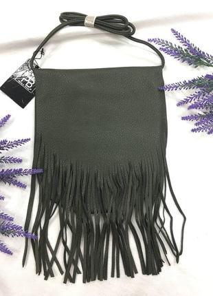 Бахрома! сумочка женская, производство италия