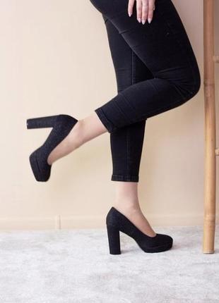 Стильні жіночі туфлі 🌷 35-40 розмір,маломірки ☀️,є наложка 👍
