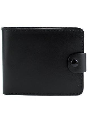 Кожаное портмоне п3-01 (черное)