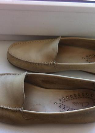 Туфли макасины clarks