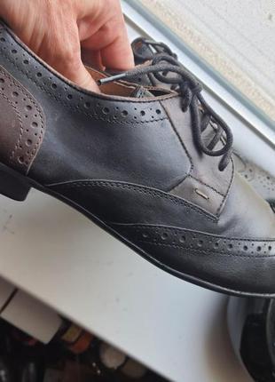 Туфли броги next р.42. оригинал натуральная кожа