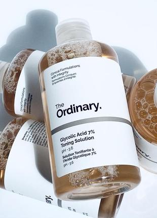 Тоник glycolic acid 7% toning solution the ordinary