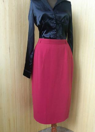 Красная юбка карандаш  gerry weber в деловом стиле  офисная2