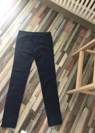 Повседневные зауженные синие брюки pimkie