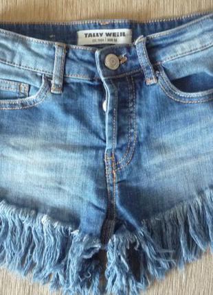 Супер джинсовые шорты 11-14 лет