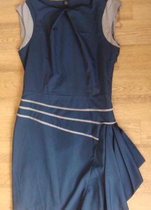 Topcapy платье сарафан в офис размер 44