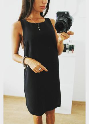 Шикарное простое черное платье идеального кроя от h&m 299 грн!