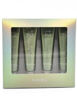 Лосьон пилинг для кожи головы masil 12 scalp spa cleansing lotion