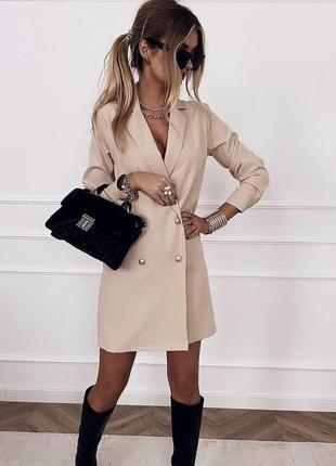 Женское платье -пиджак