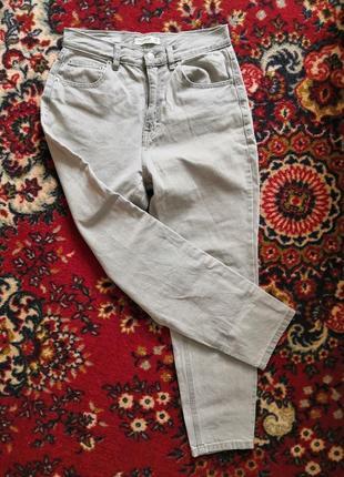 Фирменные джинсы мом pull&bear