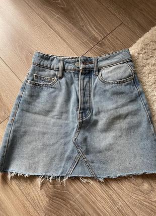 Спідничка джинсова bershka