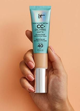 Cc крем it cosmetics spf 40