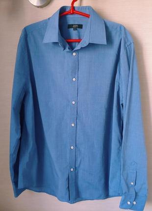 Шикарная рубашка большого размера  в груди 60 см