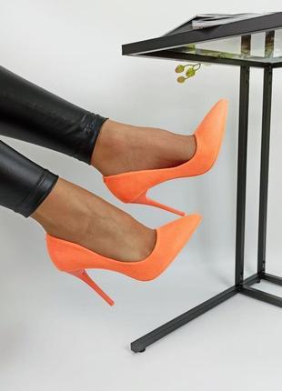 Туфлі персик🍑