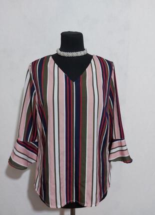 Блуза в полосочку
