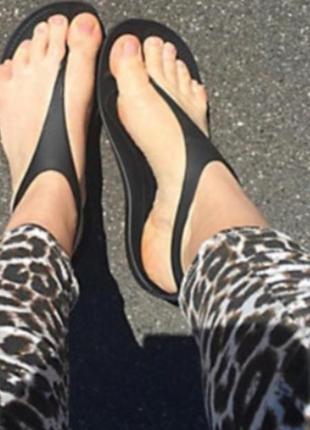Crocs sexy flip новые w8