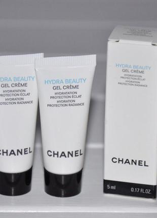 Увлажняющий крем гель для лица chanel hydra beauty hydratation protection