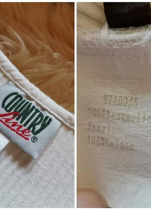 Винтажная блуза рукав буф country line блузка буфы4 фото