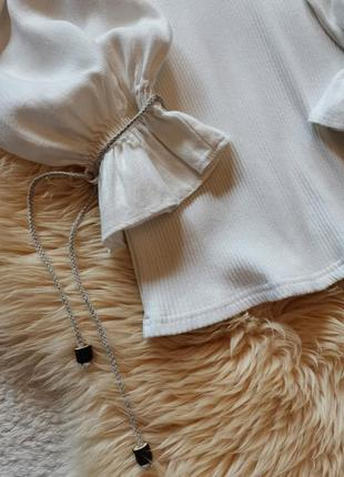 Винтажная блуза рукав буф country line блузка буфы6 фото