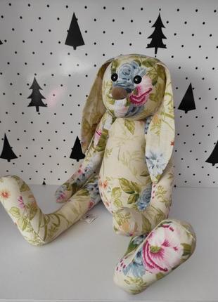 Пасхальный кролик в стиле тильда декор