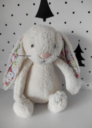 Пасхальный кролик интерьерная кукла в стиле тильда декор от jellycat