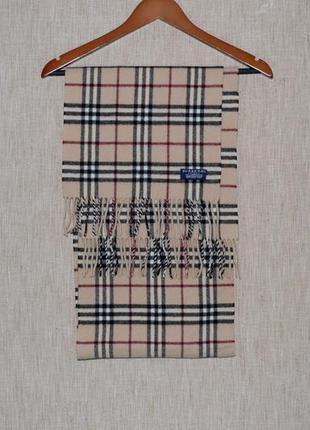Burberry london lambswool scarf