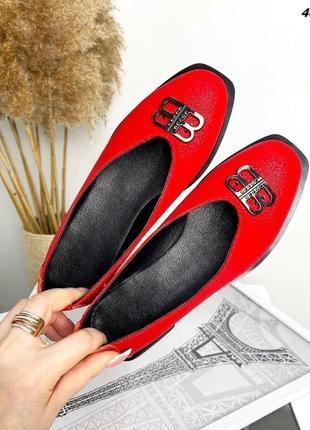Туфли-балетки  женские3 фото