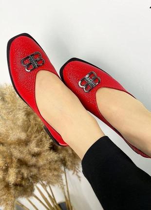 Туфли-балетки  женские5 фото
