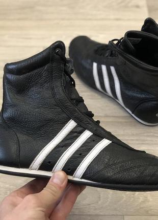Adidas prajna high шкіряні боксерки борцовки оригінал