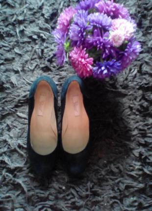 Туфли замшевые respect