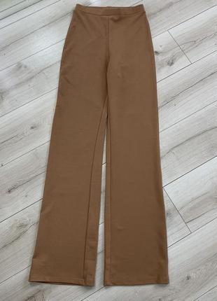 Крутые штаны кюлоты zara высокая посадка