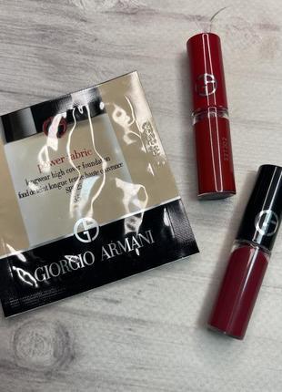 Набор лак для губ матовая помада тональный armani lip maestro ecstasy lacquer foundation