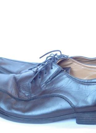 Туфли  на широкую ногу натуральная кожа р.48