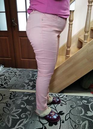 Штани джинси стрейчеві завужені3 фото