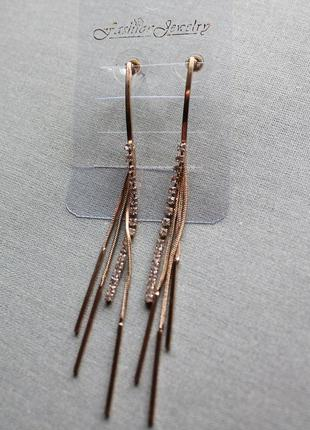 Сережки stradivarius