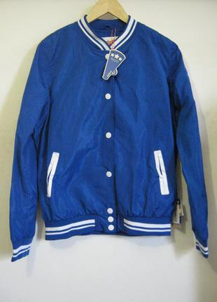 Куртки - ветровка бомбер alcott новые размеры - l - xl