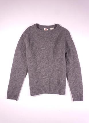 Шерстяной свитер, кофта levis, 100% оригинал