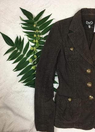 Пиджак d&g / жакет вельветовый
