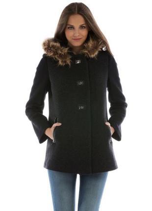 Пальто шерстяное colin's новые размеры с и л