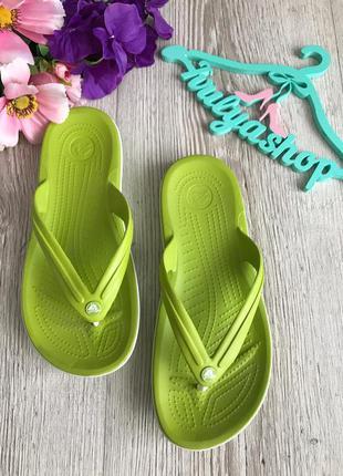 Мегаудобные шлепанцы вьетнамки crocs оригинал 40